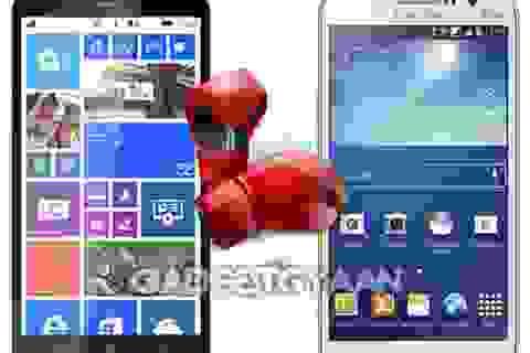 So sánh bộ đôi Samsung Galaxy Grand 2 và Nokia Lumia 1320