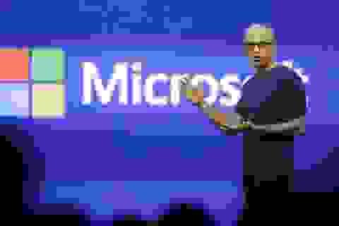 Doanh số Microsoft cao hơn dự đoán trong quý đầu tiên có CEO mới