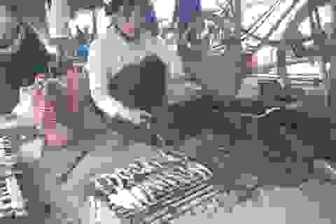Thơm bùi cá trích nướng