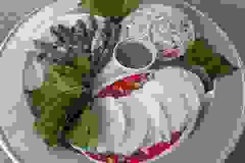 Bún lá làng Quỳnh