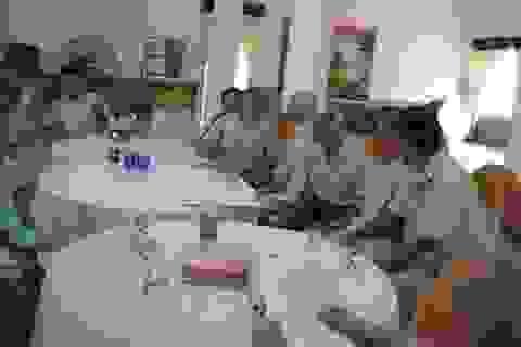 Gặp mặt cựu chiến binh chiến sĩ Điện Biên Phủ