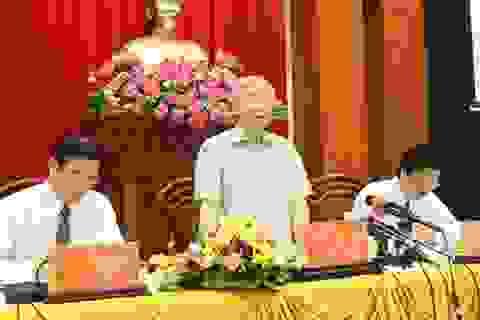 Tổng Bí thư: Tiền Giang cần ứng phó kịp thời với hạn - mặn