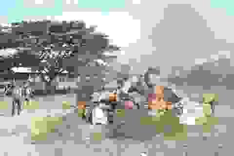 Tiêu hủy hàng chục ngàn gói thuốc lá nhập lậu và hàng hoá kém chất lượng