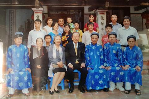 Thực hư chuyện ông Ban-Ki-Moon mang dòng dõi Việt