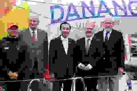 Lễ đặt tên thuyền buồm Đà Nẵng - Việt Nam tại Vương quốc Anh