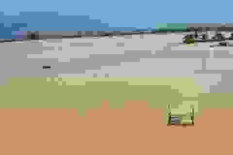 Đường sạt lở nặng, nước sông dâng cao vì mưa lớn