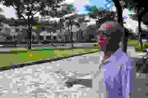 """Dân gửi đơn phản đối """"xén"""" đất công viên xây bãi đỗ xe"""