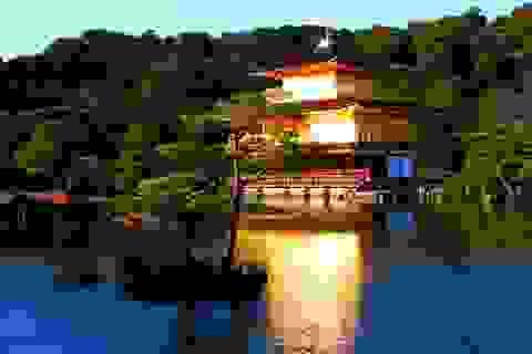 Tham quan Chùa Vàng nổi tiếng ở cố đô Kyoto