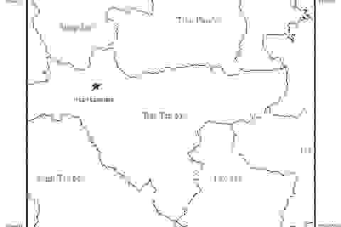 Động đất mạnh 3,3 độ richter ở Sông Tranh 2