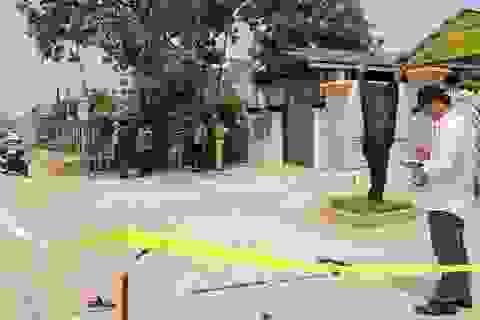Hiện trường vụ thanh trừng bằng súng giữa 2 nhóm giang hồ