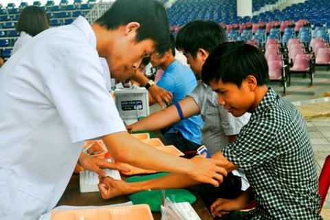 Gần 450 Đoàn viên Thanh niên phố cổ Hội An hiến máu tình nguyện