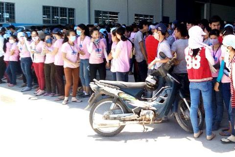 """Quảng Nam: Hơn 1.000 công nhân lãng công vì """"lương nhận được không rõ ràng"""""""
