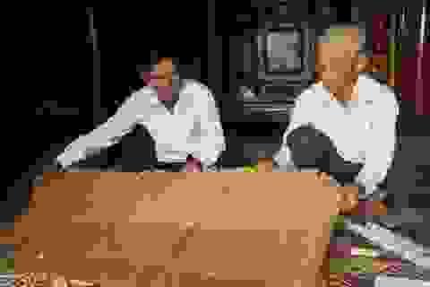 Lưu giữ hai sắc phong cổ thời Tây Sơn