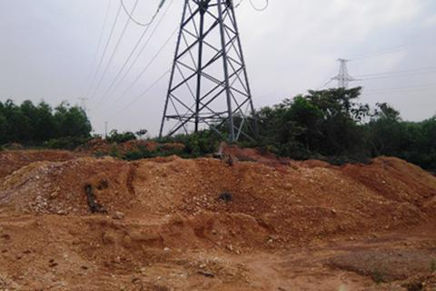 Quảng Trị: Ngang nhiên khai thác đất trái phép trong khu quy hoạch