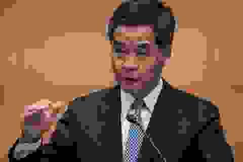 """Lãnh đạo Hồng Kông cáo buộc """"các lực lượng nước ngoài"""" tham gia biểu tình"""