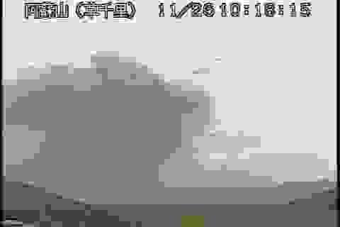 Nhật hủy hàng loạt chuyến bay vì tro bụi núi lửa