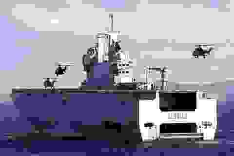 """400 thủy thủ tàu Mistral sẽ về nước """"tay trắng"""""""