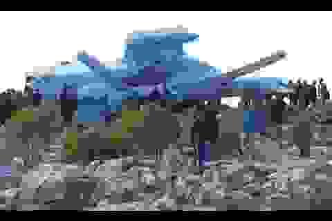 Rơi trực thăng quân đội Syria, phi hành đoàn bị bắt