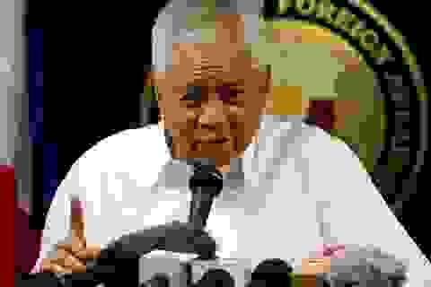 Philippines muốn Mỹ trợ giúp để đối phó với Trung Quốc ở Biển Đông