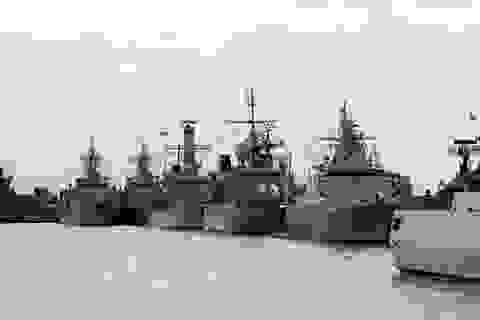 Triển lãm hàng hải lớn nhất châu Á khai mạc tại Singapore