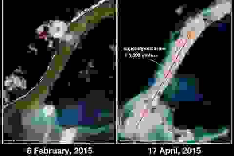 Trung Quốc tăng tốc hoạt động cải tạo phi pháp tại bãi Xu Bi