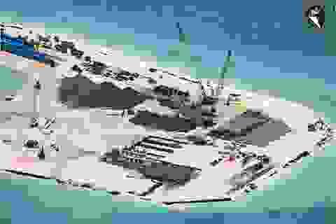 """Mỹ """"tố"""" Trung Quốc bồi đắp ở Biển Đông gây mất ổn định"""