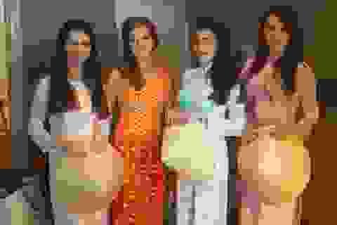 Những tà áo dài Việt tung bay trên đất Azerbaijan
