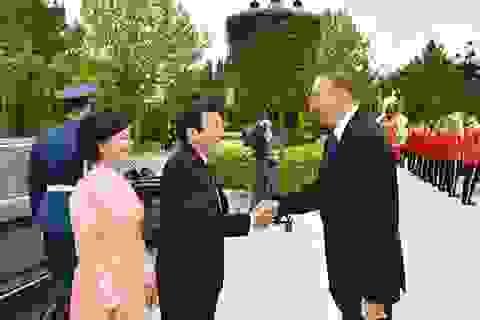 Hình ảnh Chủ tịch nước Trương Tấn Sang thăm Azerbaijan