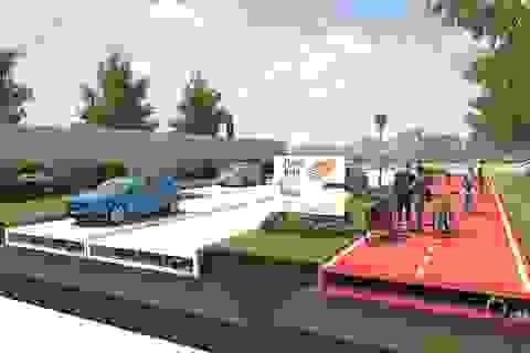 """Hà Lan ấp ủ làm đường """"xanh"""" bằng nhựa tái chế"""