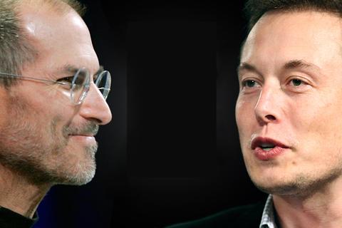 Elon Musk cho thấy hình bóng của Steve Jobs trong lĩnh vực xe hơi