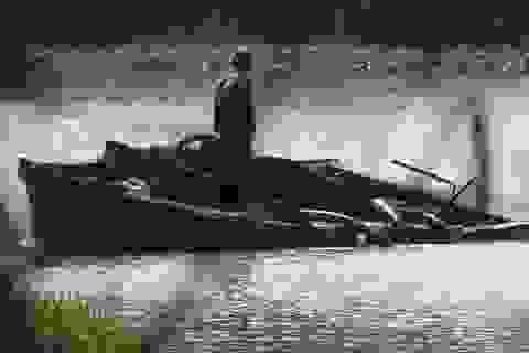 """Dân bức xúc vì cát tặc """"moi ruột"""" con sông lớn nhất Khánh Hòa"""