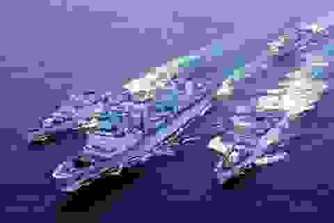 3 chiến hạm Hải quân Trung Quốc lần đầu ghé cảng Quốc tế Cam Ranh