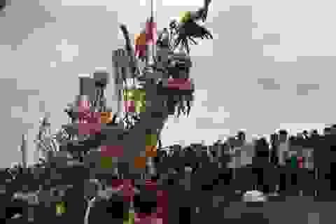 Ngư dân vùng biển tưng bừng tổ chức Lễ hội cầu ngư