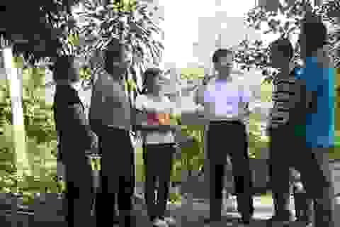 Thứ trưởng Lê Sơn Hải chỉ đạo kiên cố hóa điểm trường Cao Biền