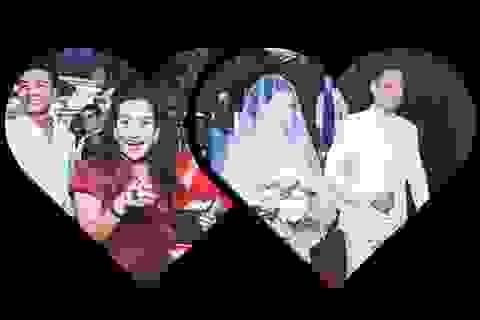 """Vợ Bình Minh gây chú ý khi dự """"đám cưới"""" chồng và Diễm My"""