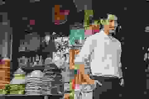 """Quang Đăng """"The Remix"""" thư sinh trên phố cổ Hà Nội"""