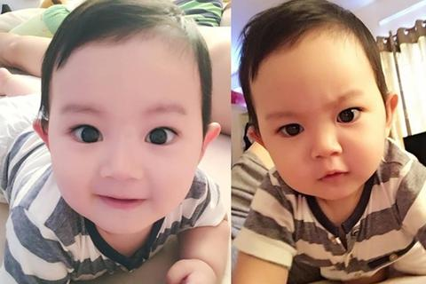 Vẻ đáng yêu của con trai Khánh Thi - Phan Hiển