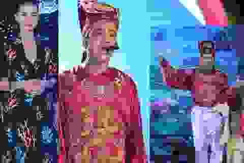 """Quang Thắng """"khoái chí"""" tiết mục đàn em, Ngô Thanh Vân """"nắn lưng"""" sao trẻ"""