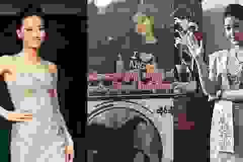 Nóng chuyện Hoa khôi Điếc đi thi Quốc tế, Á hậu Việt lên báo Myanmar