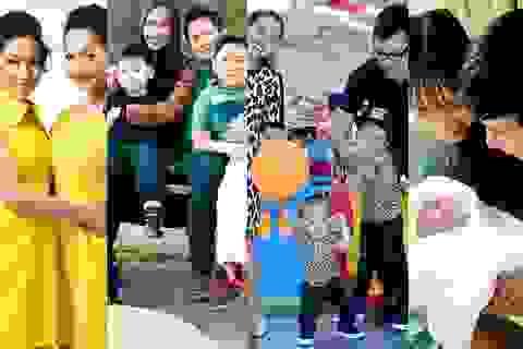 Hạnh phúc của những gia đình đông con nhất showbiz Việt