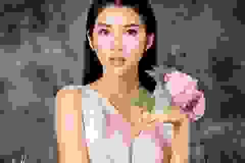 Nữ diễn viên 9X dịu dàng trong trang phục đượm sắc thu