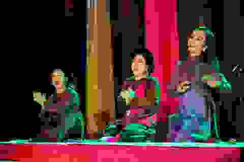 5 bộ môn ca nhạc cổ truyền cùng hiện diện trong đêm thơ Nguyễn Duy