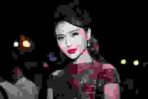 Ngọc Duyên lần đầu xuất hiện trước công chúng sau đăng quang Miss Global