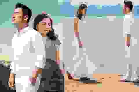 """Văn Mai Hương kể khoảnh khắc """"thót tim"""" trên đỉnh núi Bài Thơ"""