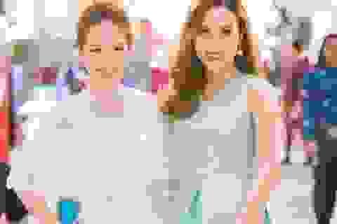 Gái hai con Lưu Hương Giang - Đan Lê đọ nhan sắc