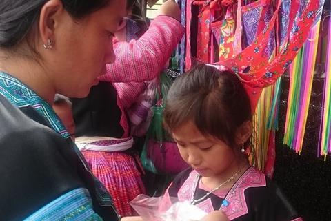 Pà Cò - chợ người Mông những ngày giáp Tết
