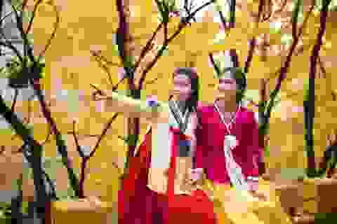 Hoa hậu Mỹ Linh, Á hậu Thanh Tú thăm thành phố cảng Busan