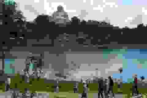 Dịp tết, núi Cấm thu hút trên 80.000 lượt khách đến tham quan