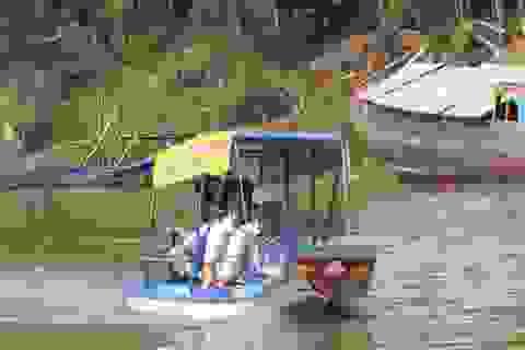 Anh nông dân chế thuyền du lịch chạy bằng năng lượng mặt trời…