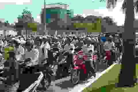 Các đơn vị quân đội hỗ trợ 1.000 chỗ trọ, suất ăn miễn phí cho thí sinh An Giang
